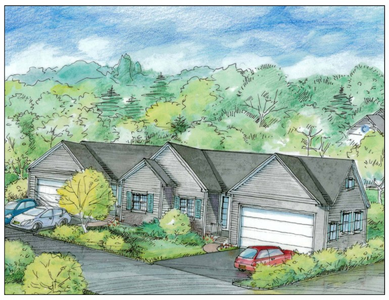 Brigante Woods Drawing Single Level Condo